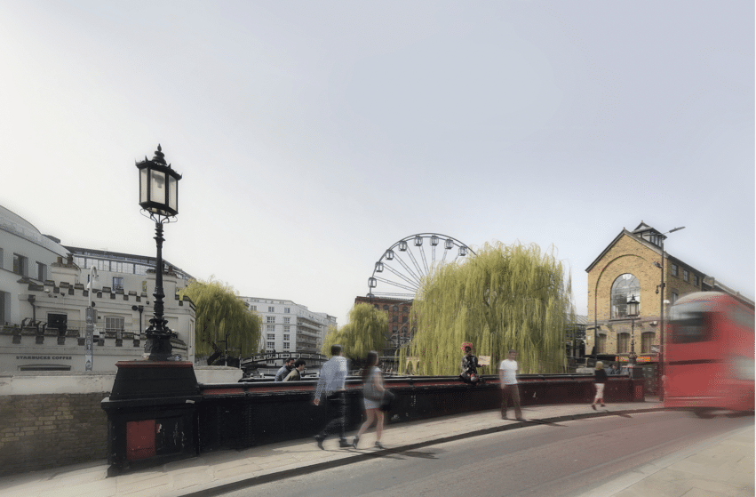 A Landmark 'Observation Wheel' Has Been Proposed To Set Up Shop At Camden Market In 2022