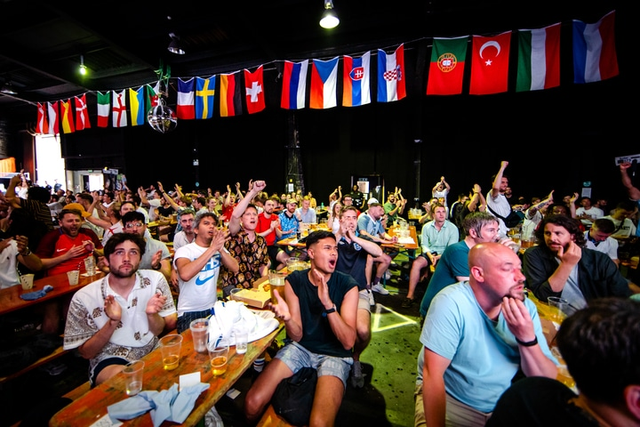 You Can Watch Every Euro 2020 Game In A Huge 5000-Square Foot Warehouse