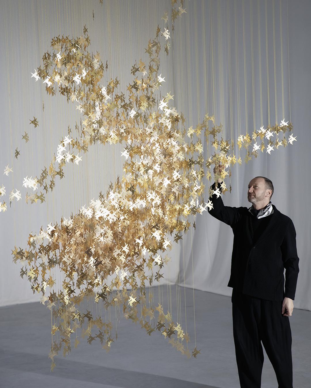 rémy martin gilded art sculpture the design museum
