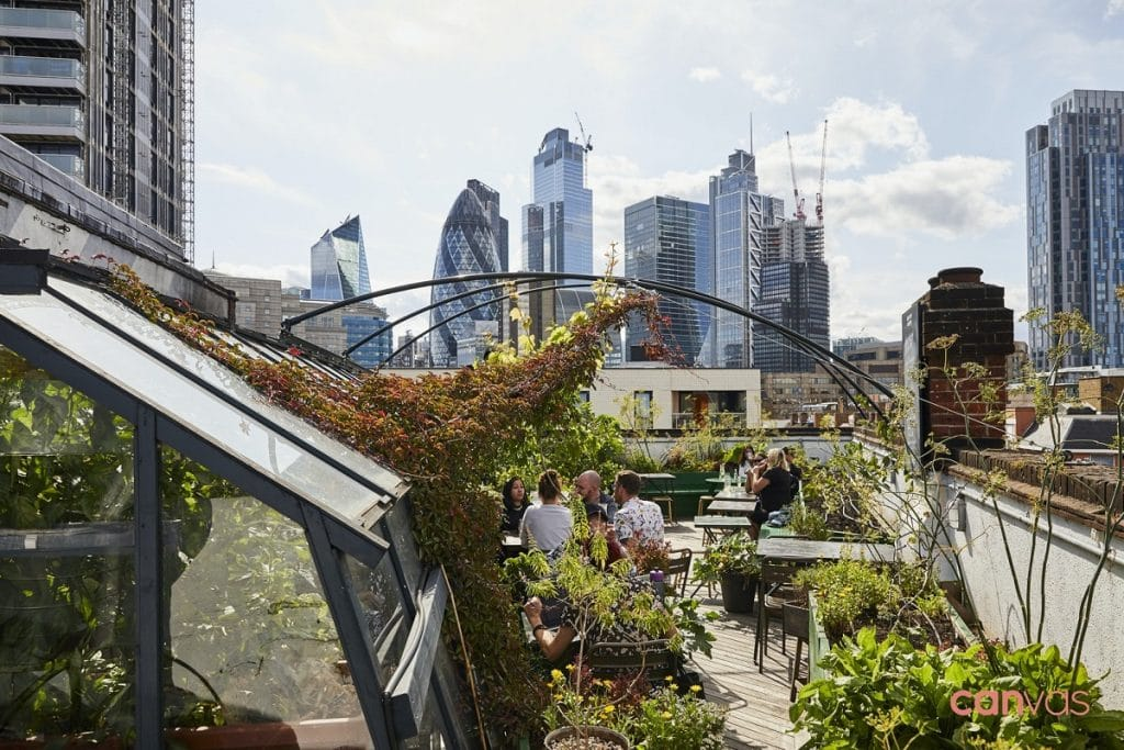 the culpeper in spitalfields has been voted europe's best rooftop bar