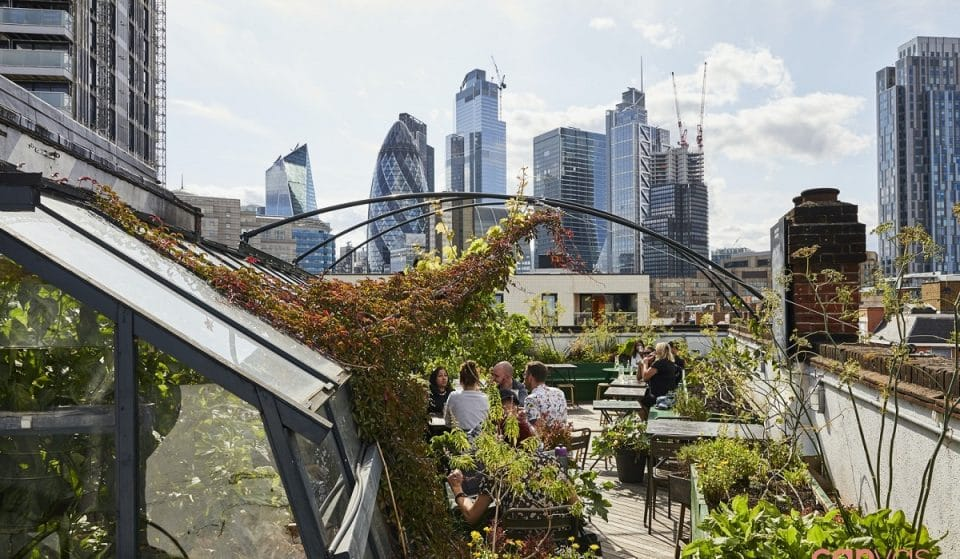 This Spitalfields Oasis Has Been Voted 'Europe's Best Rooftop Bar' • The Culpeper