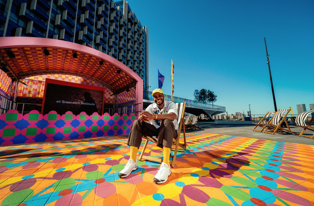 An Immersive New Outdoor Installation Has Arrived On Greenwich Peninsula And It's Vibrant AF