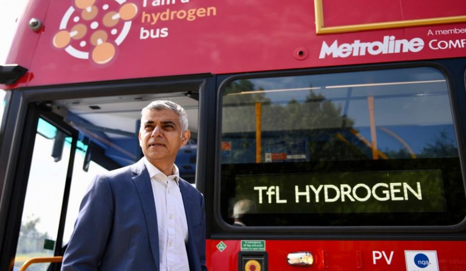 Brand New Hydrogen Double Decker Buses Have Arrived In London For The First Time