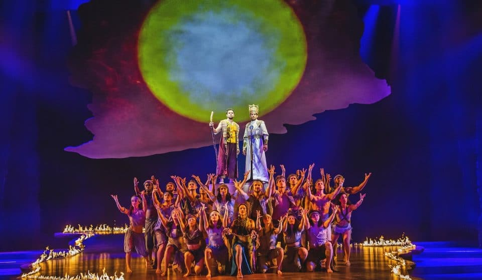 Dazzling West End Hit 'The Prince Of Egypt' Is Back On Stage This Summer