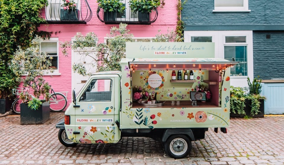 There's A Colourful Wine Truck Popping Up Around London This July