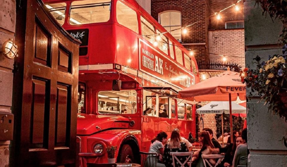 The Lavish London Pub With The Double-Decker Bus Bar • The Old Bank Of England