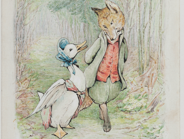 A Wholesome Beatrix Potter Exhibition Featuring Original Watercolours Is Coming To The V&A
