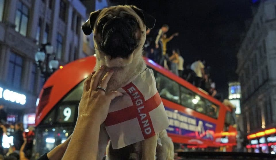 These Were The Absolute Scenes In London Last Night After England Reached The Final Of Euro 2020