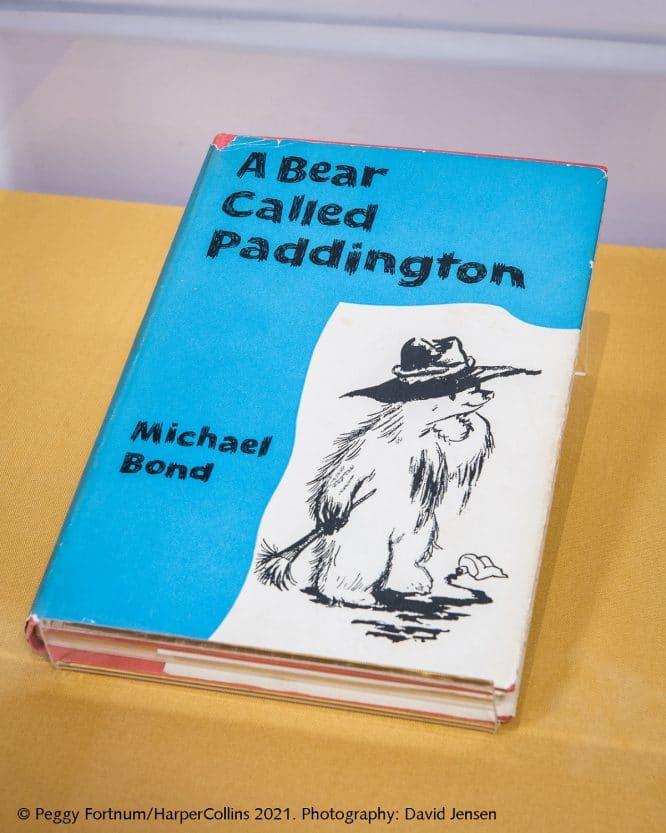 first edition of a bear called paddington