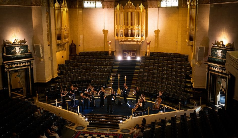 The Striking Freemasons' Hall Will Be Hosting Candlelit Christmas Concerts This December