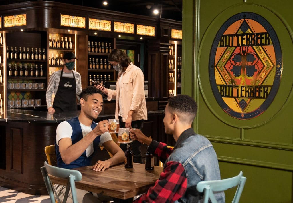 A New Harry Potter Exhibition With A Butterbeer Bar Has Arrived In London