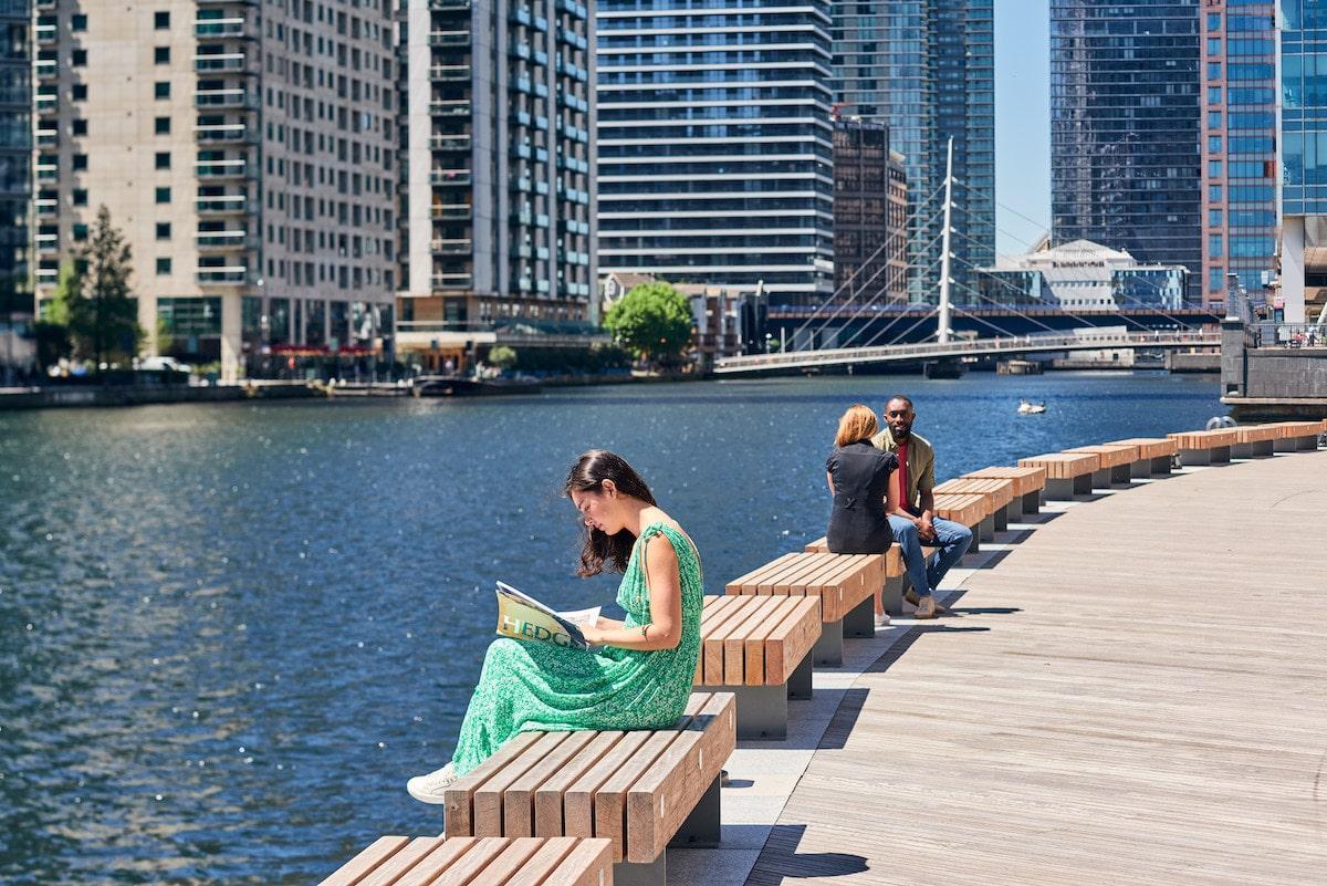 canary wharf summer