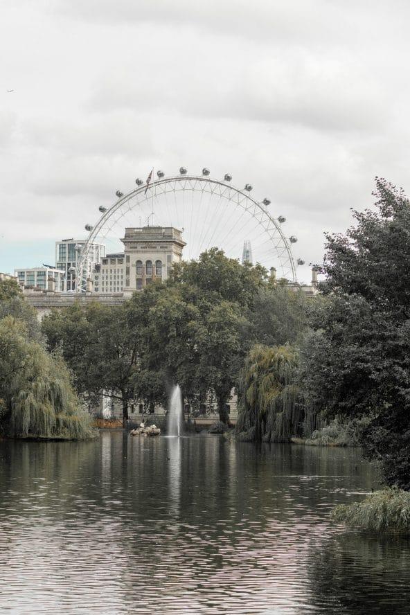 non-londoner st james's park