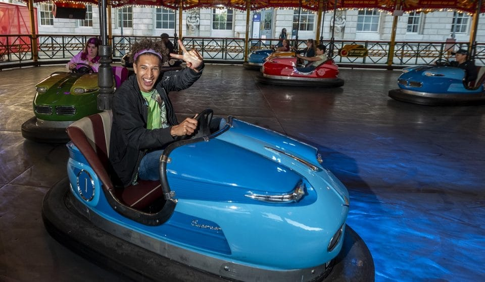 A Futuristic Fairground With Musical Dodgems Has Opened At Somerset House