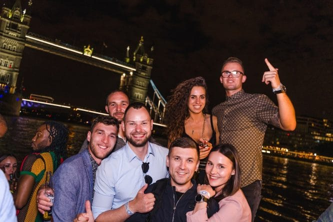 london boat party
