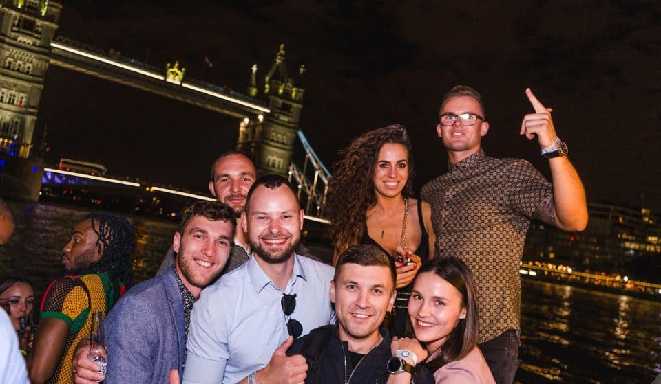 Celebrate Lockdown Easing With This Epic Thames Boat Party