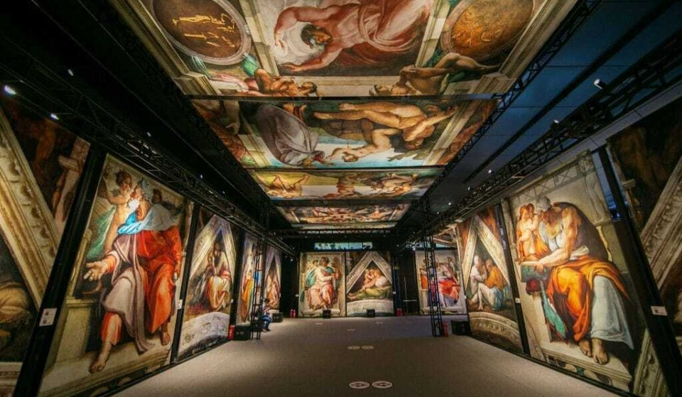 Michelangelo's Famous Sistine Chapel Has Arrived In London In A Stunning New Exhibition