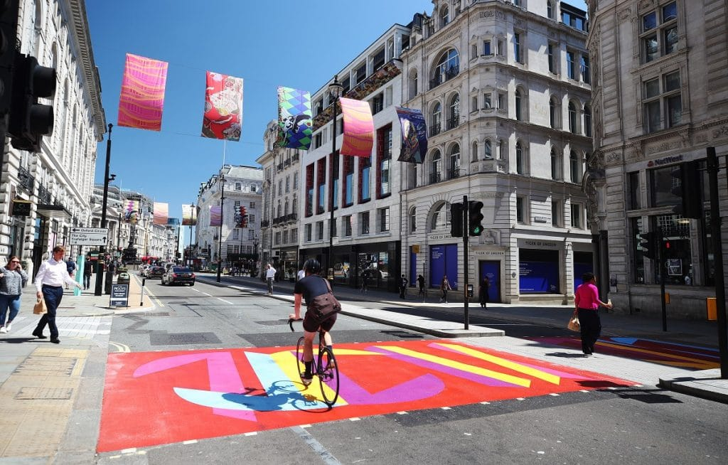 Piccadilly Art Takeover