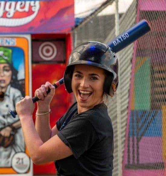 sluggers rooftop baseball batting cages