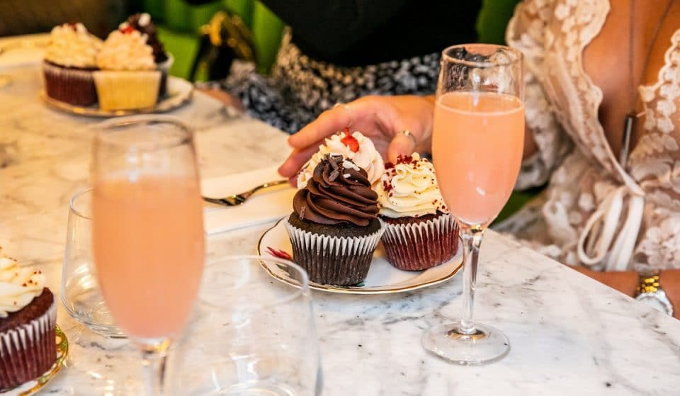 London's New Bottomless High Tea Features Drag Queens, Cupcakes, And Cocktails