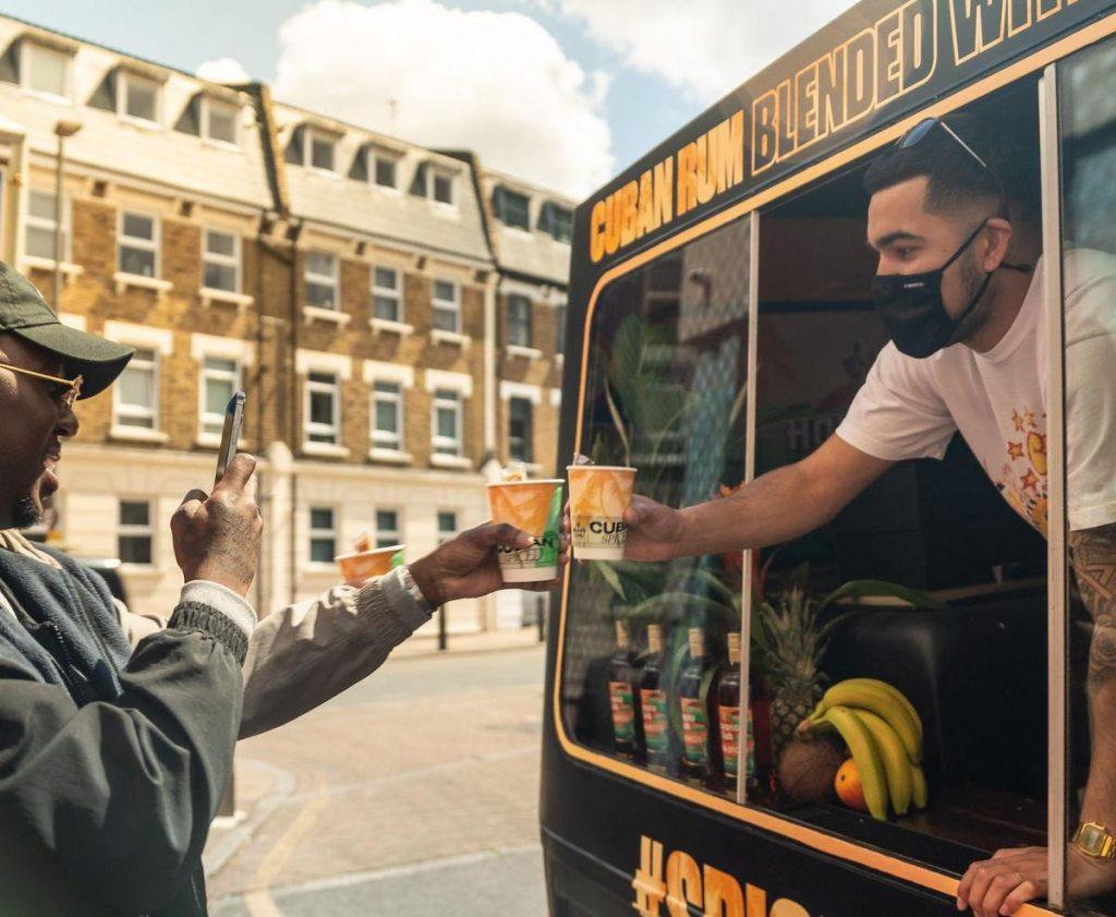 Havana Club Spiced Cream Van