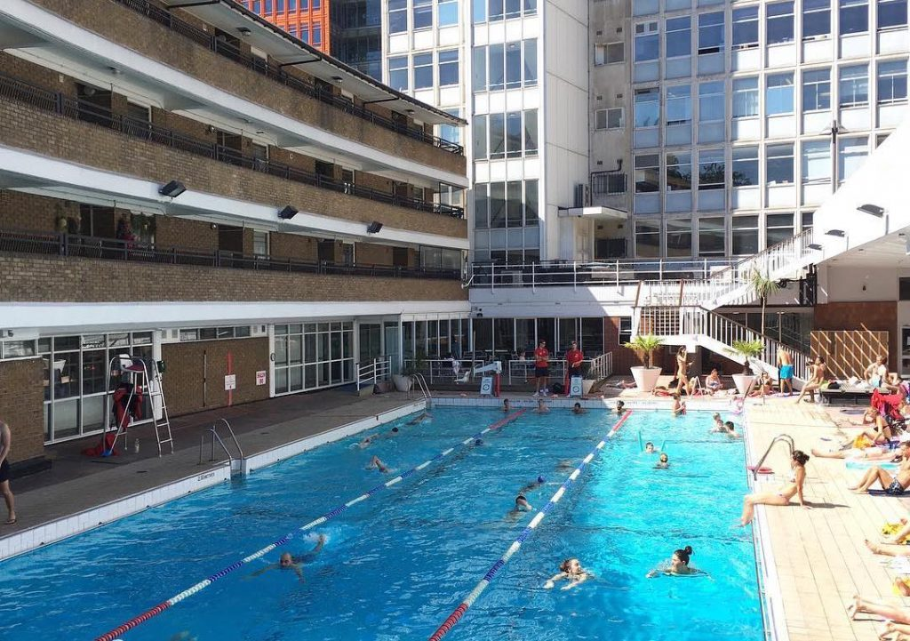 This Central London Swimming Pool Promises A Secluded Swim All Year Round • Oasis Sports Centre