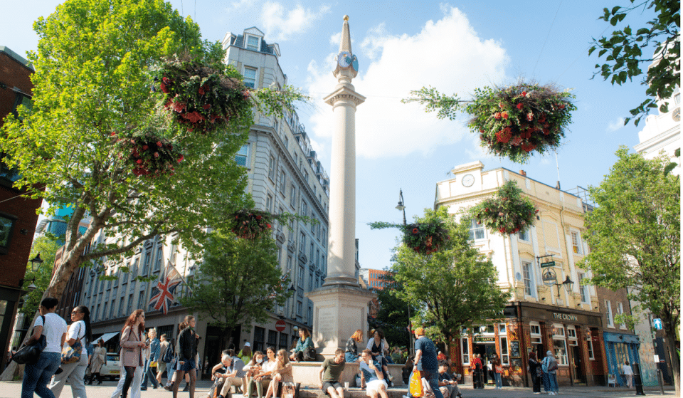 Seven Dials Has Emerged From Lockdown Looking Like A Blooming Masterpiece