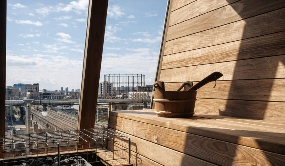 A Rooftop Bar That Boasts Hot And Cold Saunas Has Arrived In East London For Their Summer Season