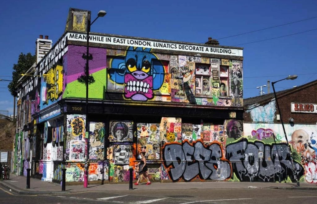 A Historic Hackney Wick Graffiti Pub Has Returned After 26 Years And Is Now Open • Lord Napier And Star