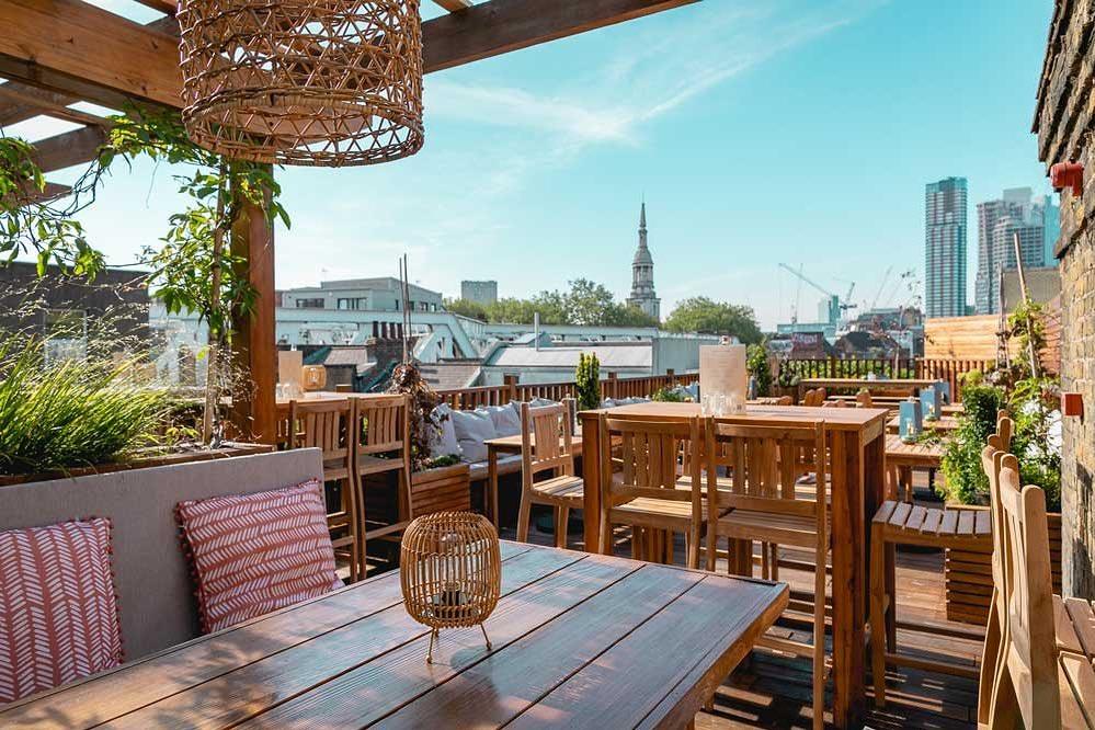 TT Liquor Boast The Perfect Garden Roof Terrace For Summer In London