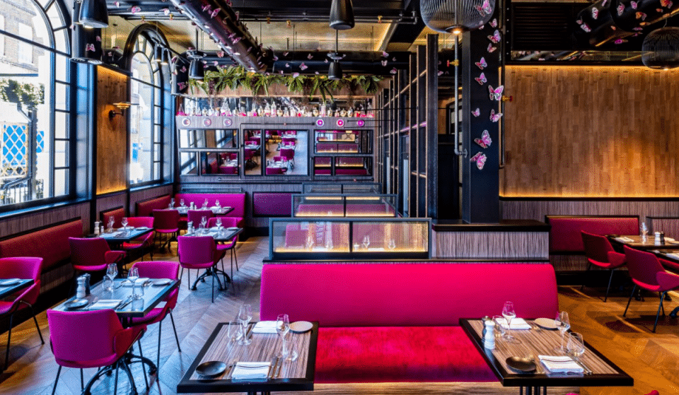 The Vibrant King's Cross Restaurant With The Enchanting Pink Décor • Magenta