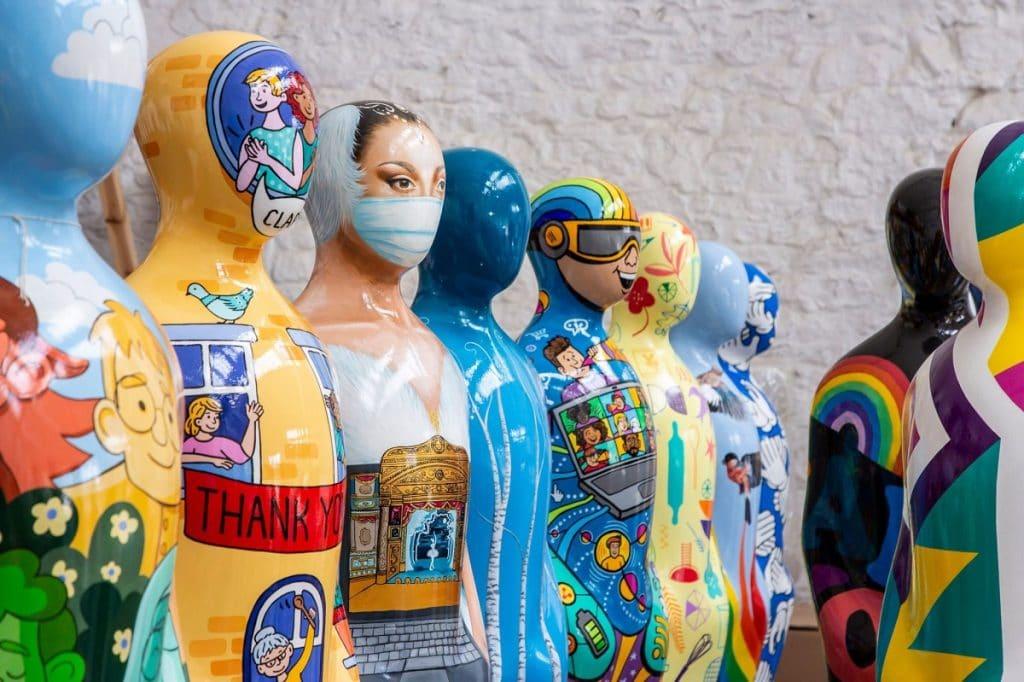nhs sculptures gratitude