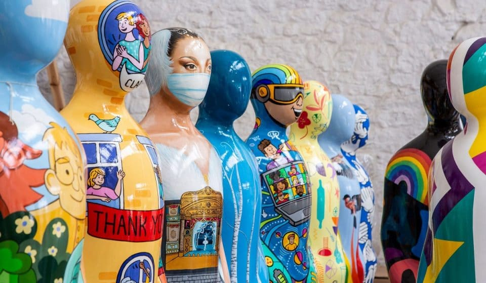 A Colourful Sculpture Exhibition That Pays Tribute To The NHS Is Coming To London