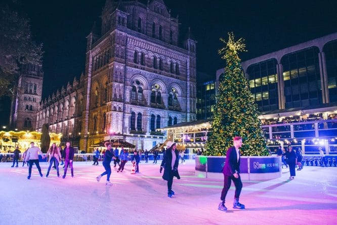 natural history museum ice rink4