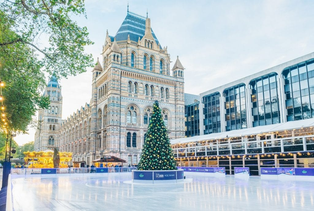 Natural History Museum Ice Rink 2018