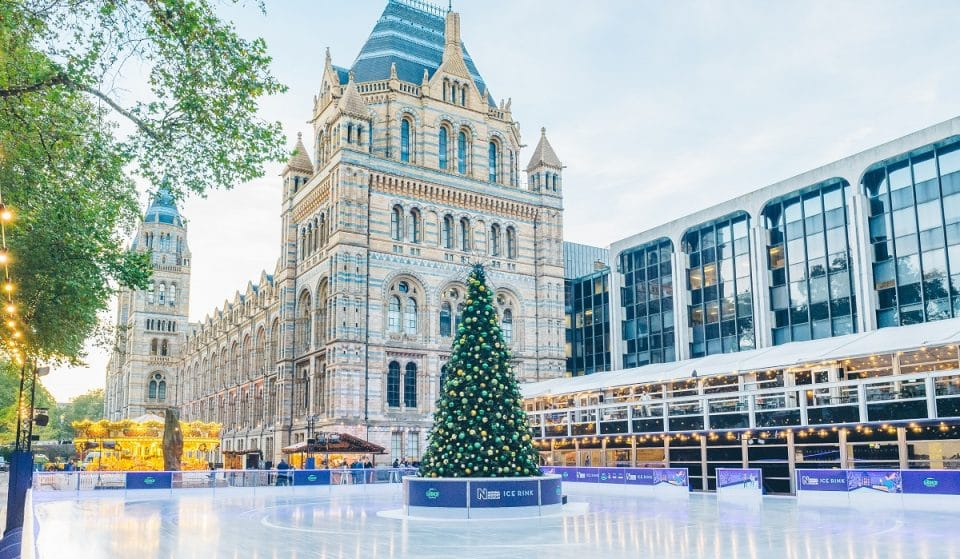 The Natural History Museum's Dreamy Ice Rink Will Return For The Last Time This Winter