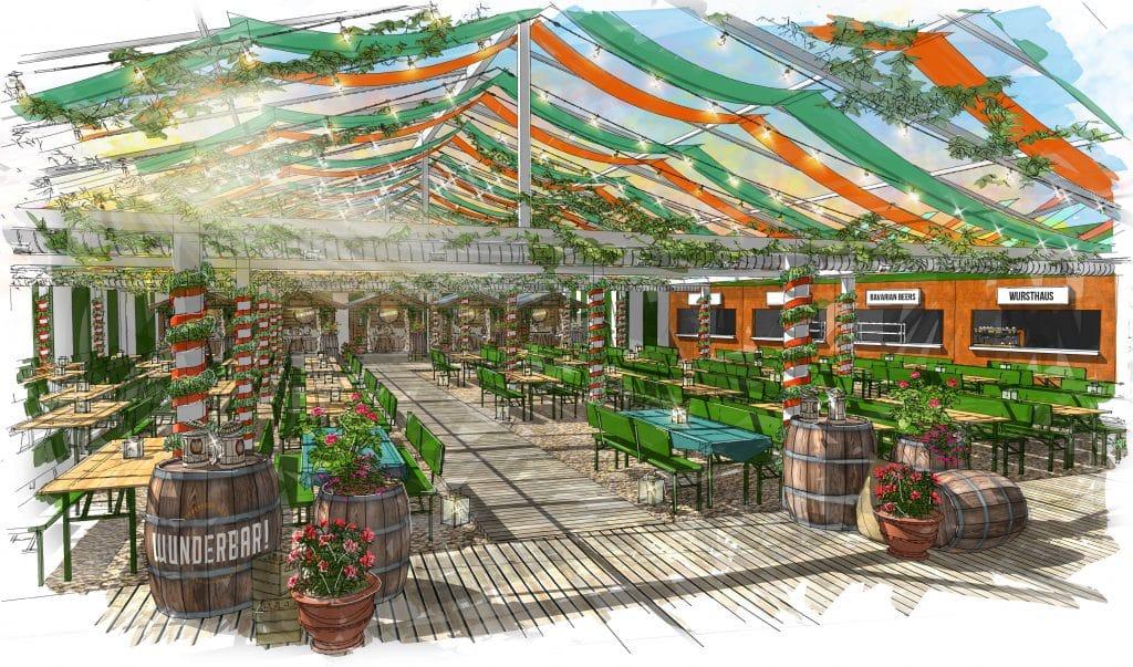 Pergola Paddington Is Transforming Into A 'Wunderbar' For Oktoberfest This Weekend