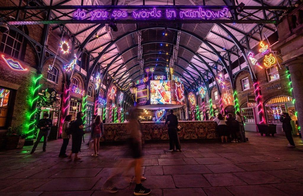 Covent Garden Neons