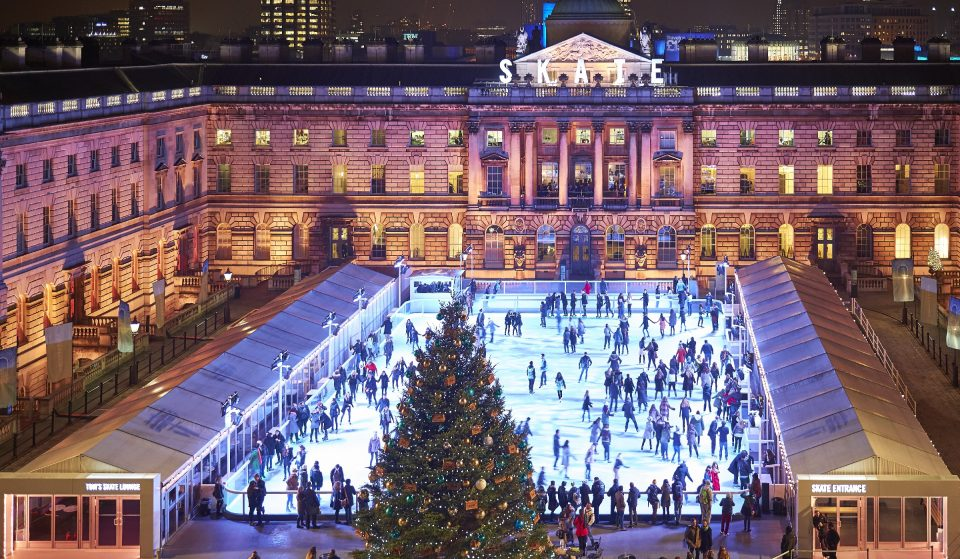Somerset House's Magical Ice Rink Will Return For Christmas 2021
