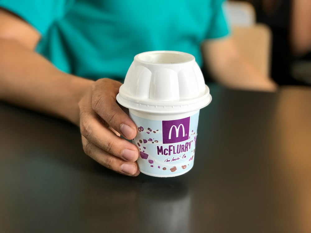 This Useful Map Shows You Which McDonald's McFlurry Machines Are Currently Broken In London