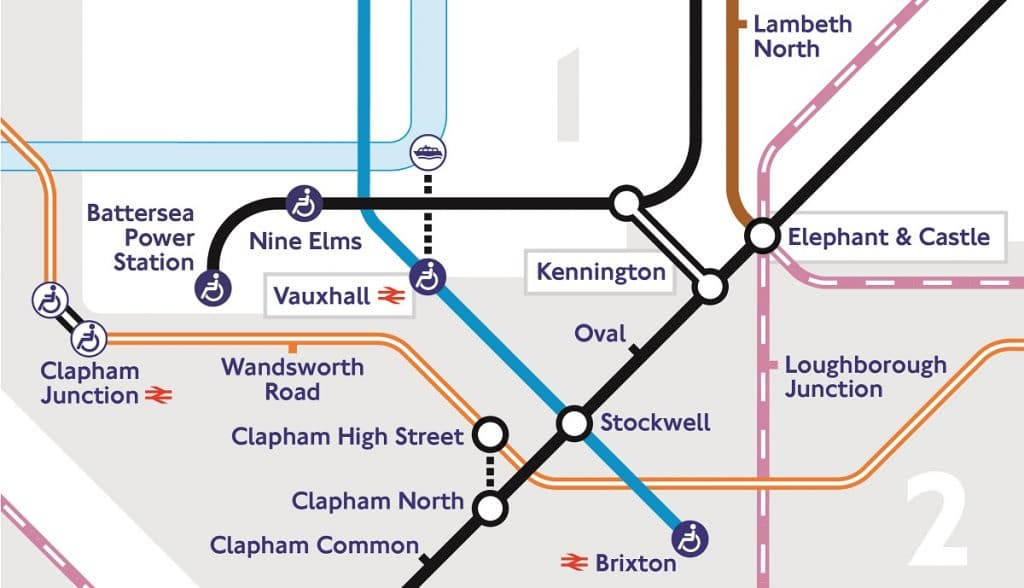 TfL new Tube map