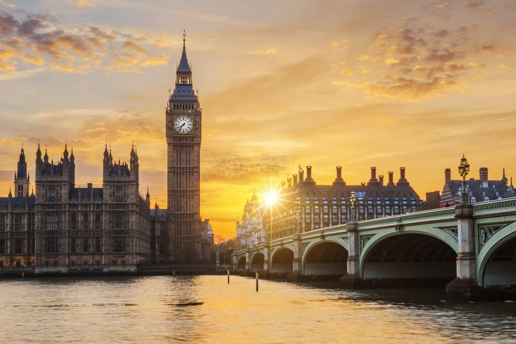 Tonight Will Be London's Last 7pm Sunset Until March 2022