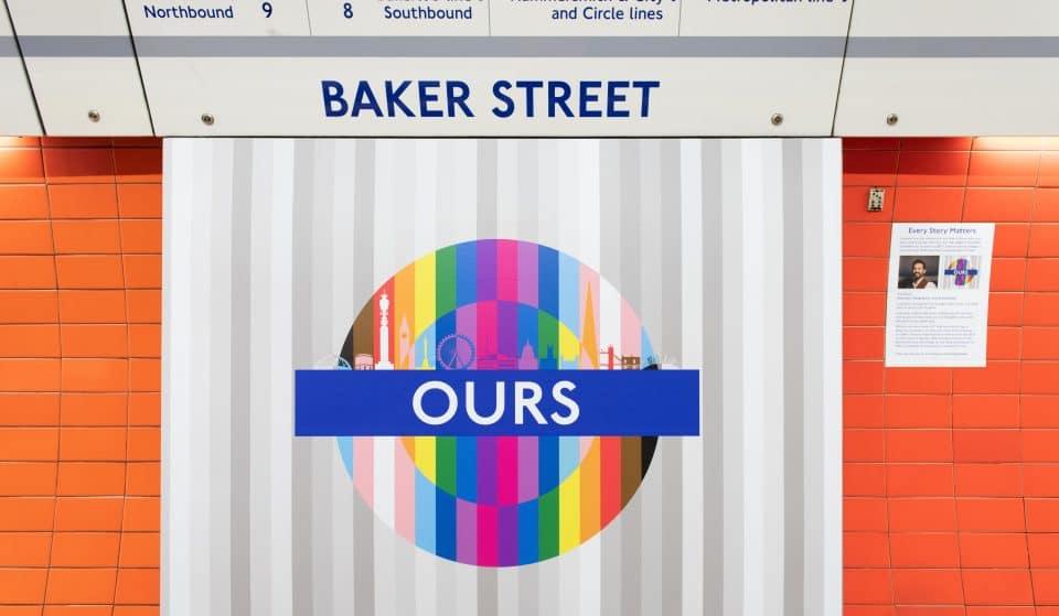 Prominent LGBTQ+ Londoners And TFL Staff Design New Pride Roundels