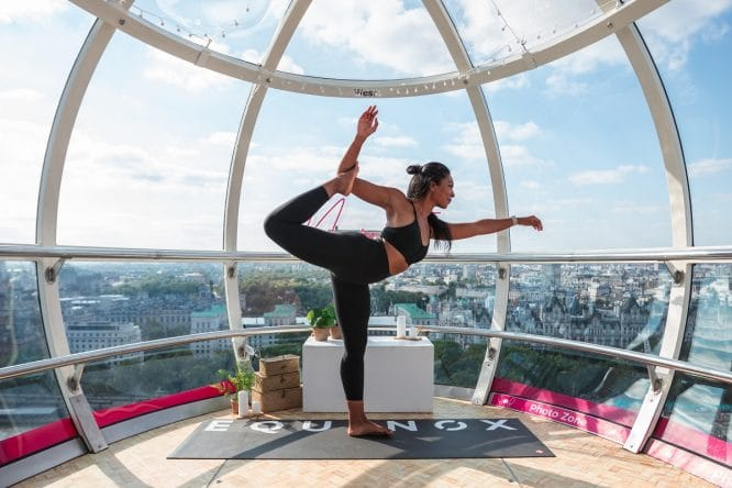 london eye yoga