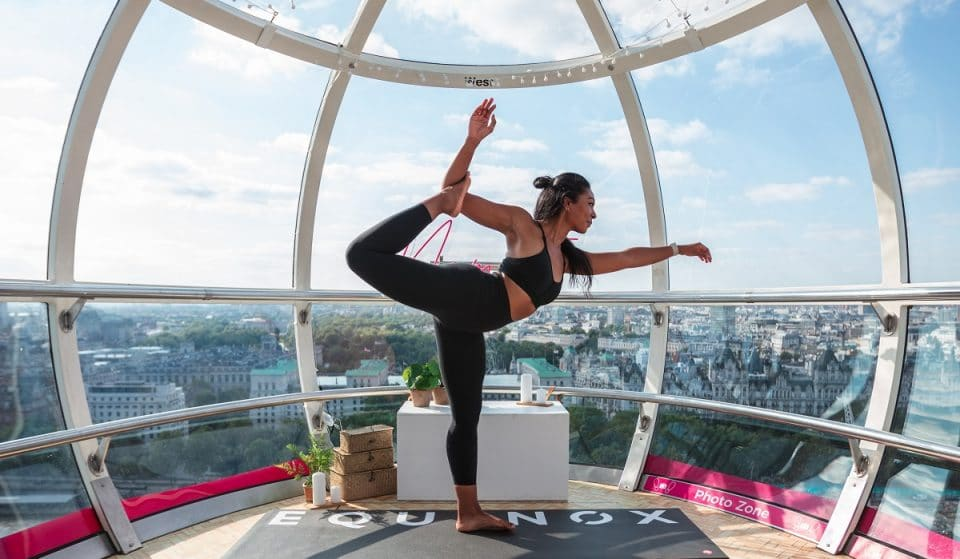 Did You Know That You Can Now Enjoy Yoga And Meditation Sessions On The London Eye?