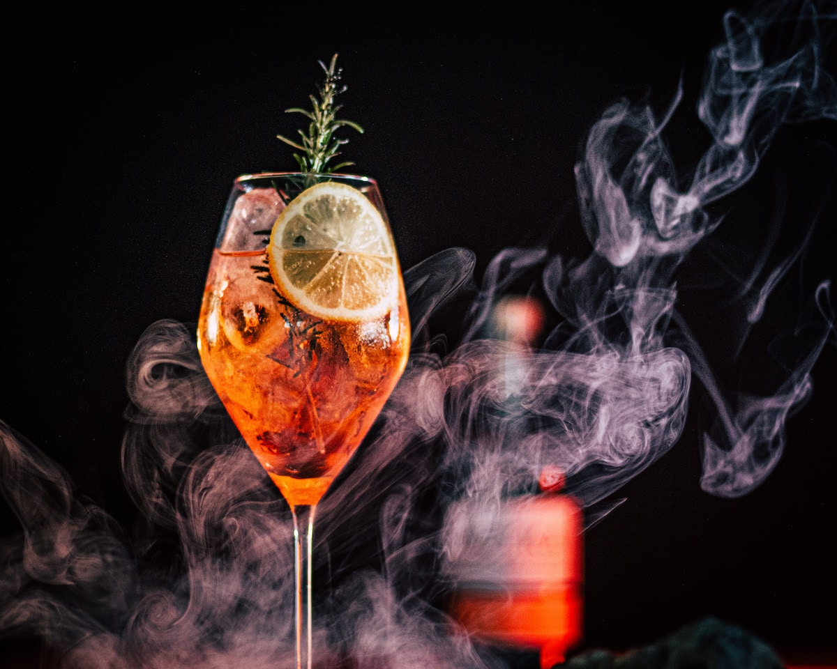 The Lava Bar, a new pop-up from Reyka Vodka.