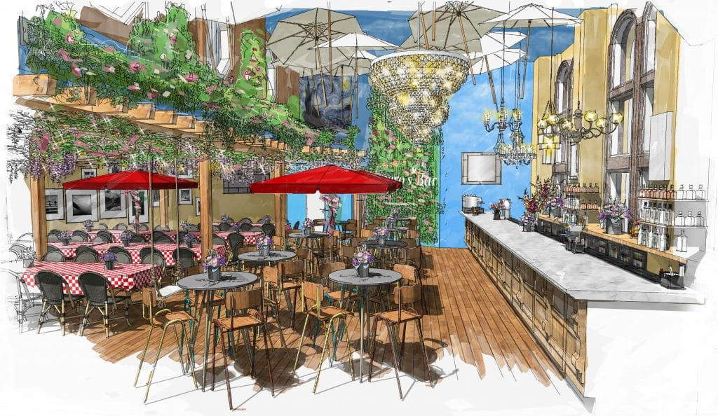 An Immersive Bar Transporting You To The South Of France Is Coming To London In November • Figaro's