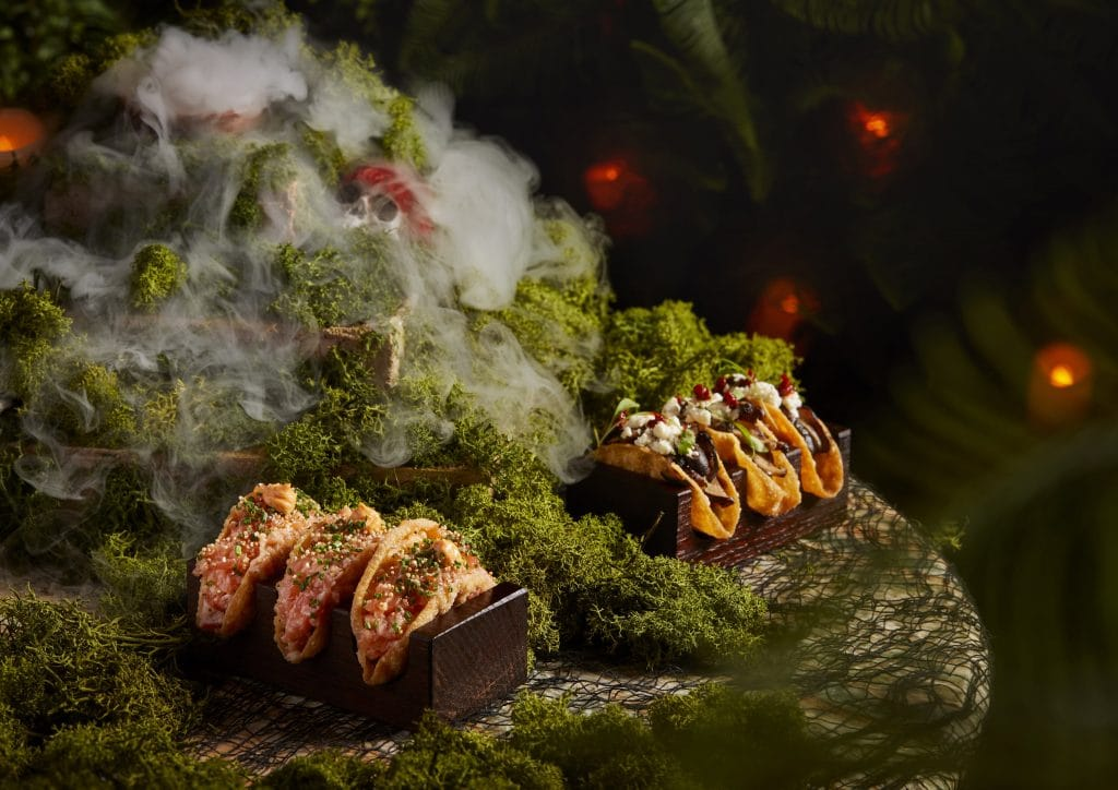 Transport Yourself To A Forbidden South American Forest At This London Restaurant For Halloween • COYA