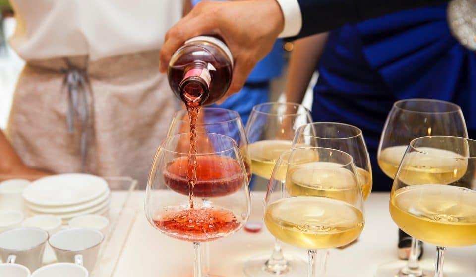 A Wine & Prosecco Festival Has Arrived At London's Massive Italian Food Market