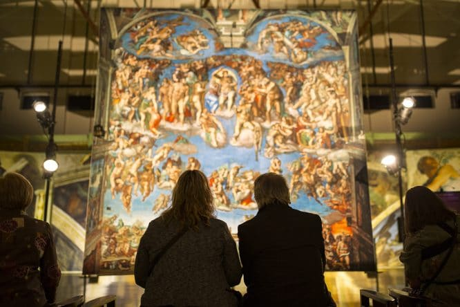 The Venue For London's Spectacular Sistine Chapel Experience Has Been Revealed